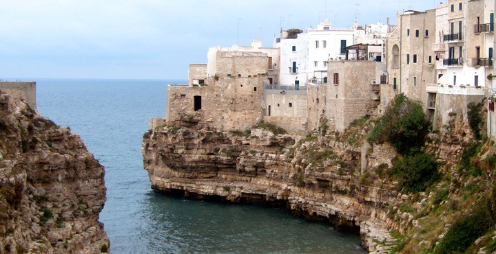 The beautiful coast of Puglia on Trek Travel's Italy cycling tour