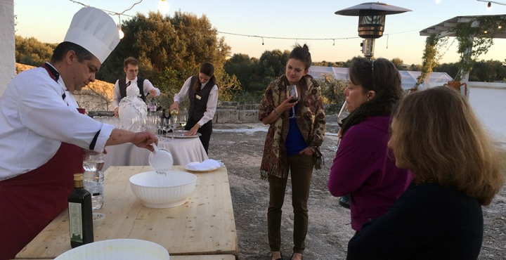 Enjoy the local food of Piedmont, Italy on a Trek Travel bike tour