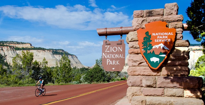 Explore Zion National Park on a Trek Travel bike trip