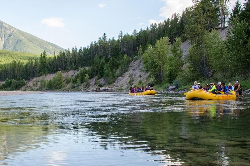 Glacier National Park family bike tour with Trek Travel